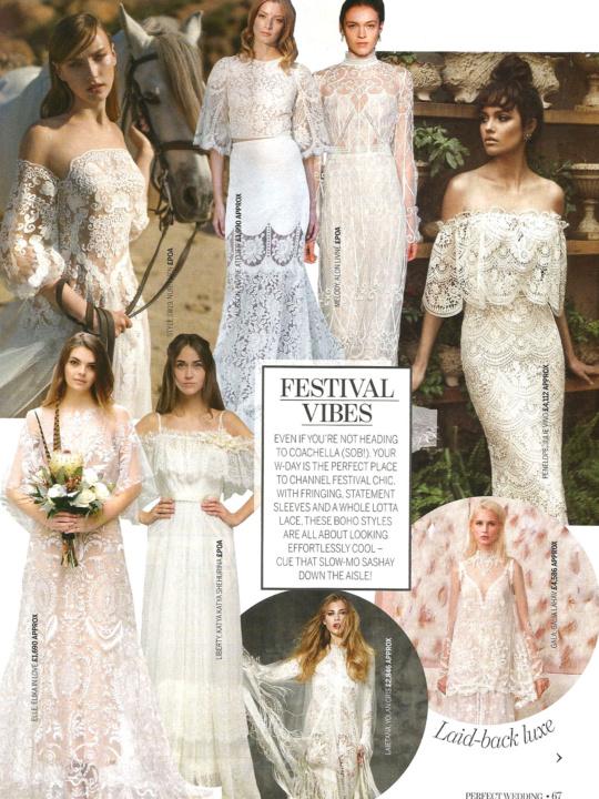 Perfect Wedding Magazine April 2017 Trend